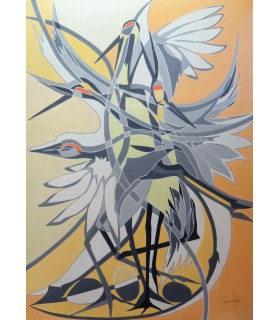 THE DANCE OF JAPANESE CRANES