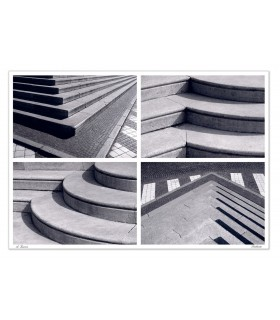 STAIRWAYS - steps of the cathedral of Treviso and Quinto -