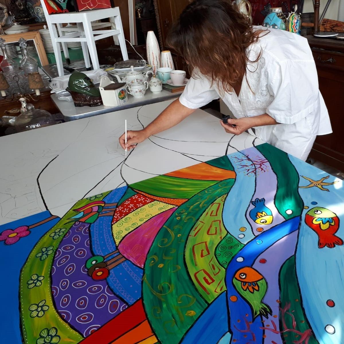 Carla Tomatis, in arte Carlà