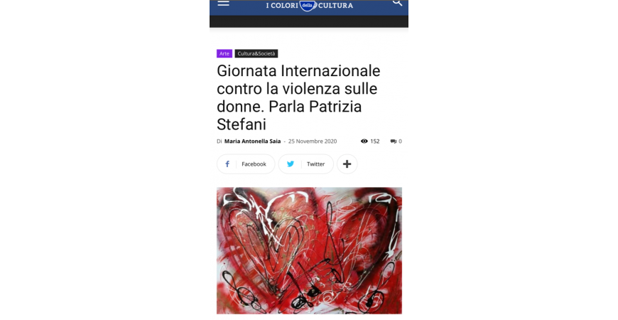 Patrizia Stefani - International day against violence against women