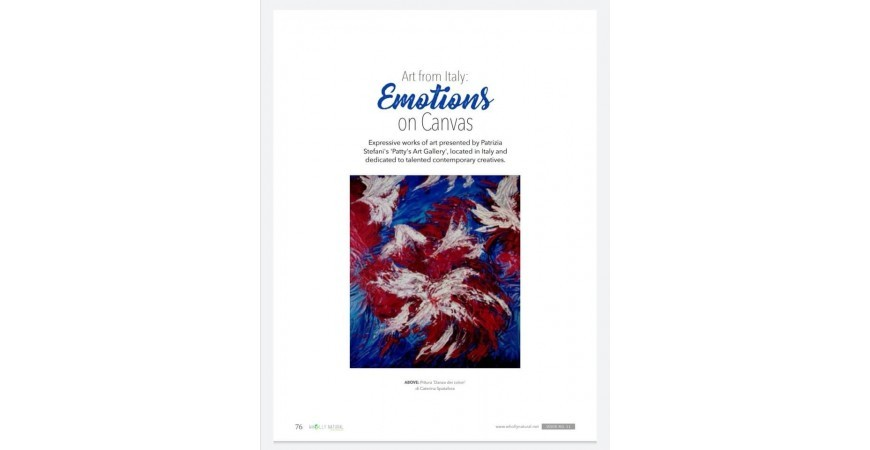 Emotions from Australia - N° 11 of the magazine Wholly Natural