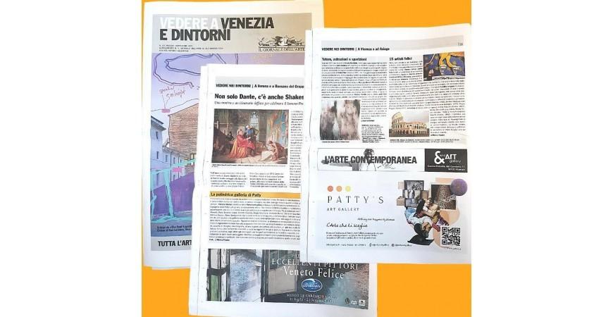 """In edicola con il Giornale dell'Arte, in """"Vedere a Venezia e dintorni"""""""