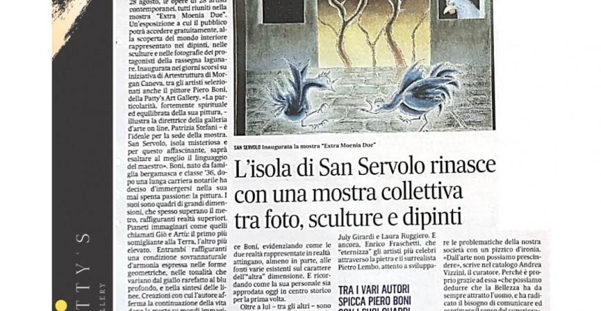 Il Gazzettino - Cultura e Spettacoli - Patty's Art Gallery