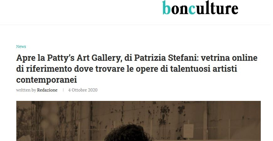 Bonculture - Opens Patty's Art Gallery