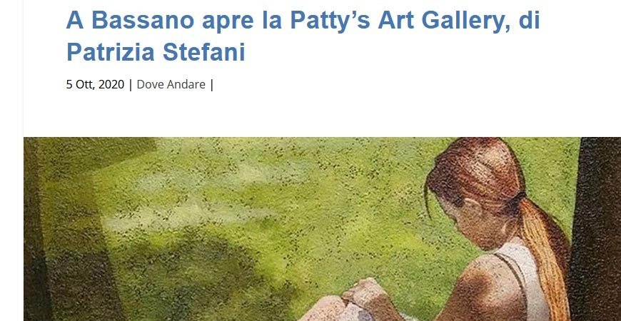 Today Chronicle - Opens Patty's Art Gallery