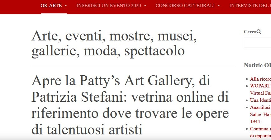 Ok Art - Opens Patty's Art Gallery